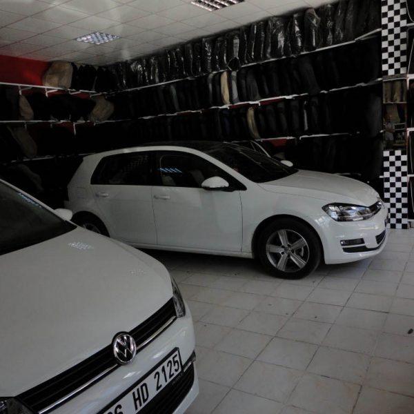 Volkswagen Golf Oto Koltuk Kılıfı Özel Dikim