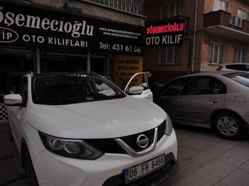 Nissan Qashgai Oto Koltuk Kılıfı