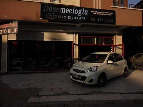 Nissan Micra Oto Koltuk Kılıfı